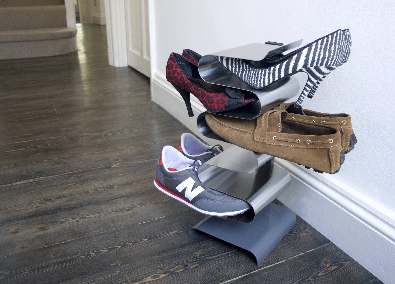 j-me Shoe Rack Nest Free-standing Shoe Shelf Shoe Holder (Free Standing) by j-me original design (Image #2)