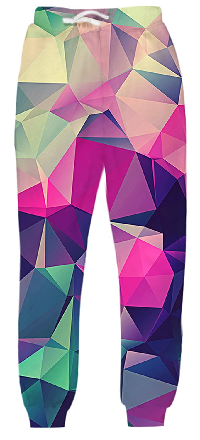 Uideazone Unisex 3D Printed Graphric Sport Jogging Pants Casual Sweatpants