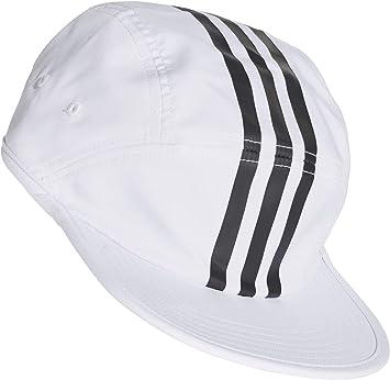adidas Tech 3 STRI Gorra, Mujer, Blanco/Negro, Talla Única: Amazon ...