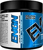Evlution Nutrition ENGN Caffeine-Free Pre-workout, Pikatropin-Free, Blue Raz, 20 Servings, Intense Pre-Workout Powder for Increased Energy, Power, and Focus