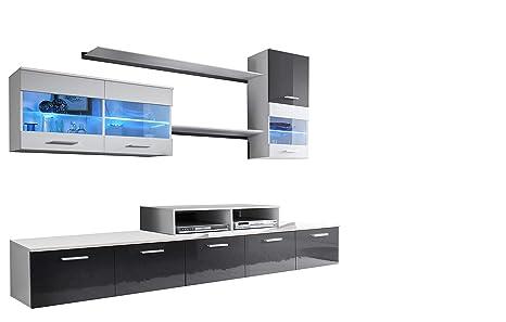 muebles bonitos - Mueble de salón Claudia Mod.2 (2,5m ...