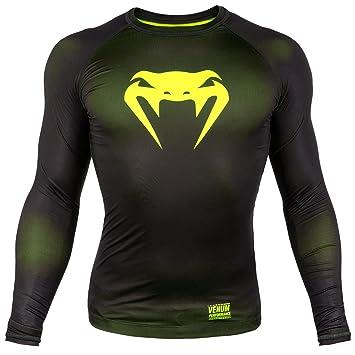Venum Contender 3.0 Camiseta de Compresión con Mangas Largas, Hombre: Amazon.es: Deportes y aire libre