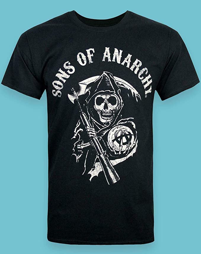 SONS OF ANARCHY AMERICAN REAPER  T-Shirt  camiseta officially licensed