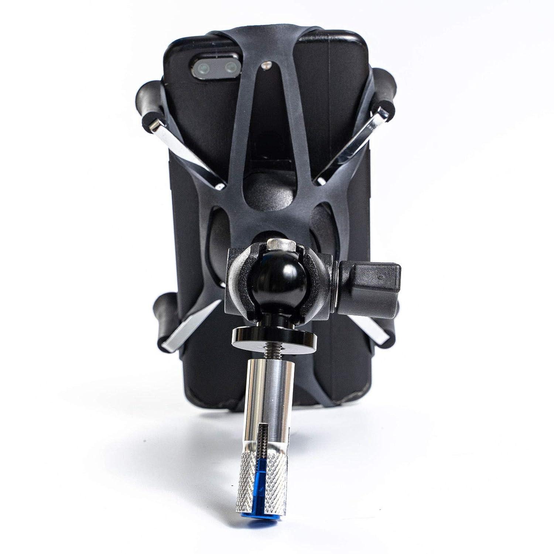 X Web Grip Mount Phone GPS Navigation Cradle Holder For Suzuki GSXR 600//750//1000