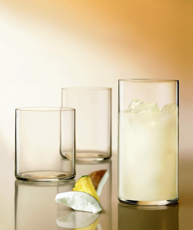 Clear Luigi Bormioli 10820//01 Top Class 15.5 oz All Purpose Drinking Glasses Set of 6