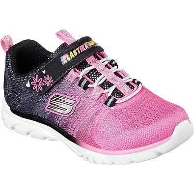 4d8aa6bf9dd4 Skechers Girls  Nadia Bungee Beauty Sneaker