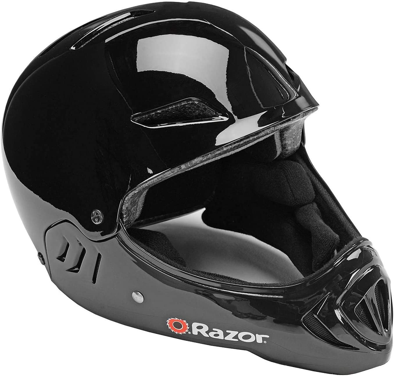 Lucid Red Razor Youth Kids Full Face Sport Bicycle Mountain BMX Bike Helmet
