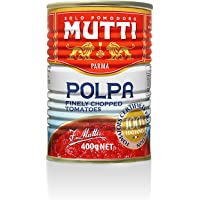 Mutti —14 oz. 12 Pack of Finely Chopped Tomatoes from Italy's #1 Tomato Brand. Adds fresh taste to recipes calling for Crushed Tomatoes