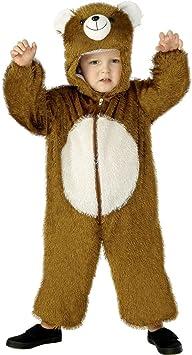 Smiffys - Disfraz de Oso para niño, Talla S (4 - 6 años) (30803 ...