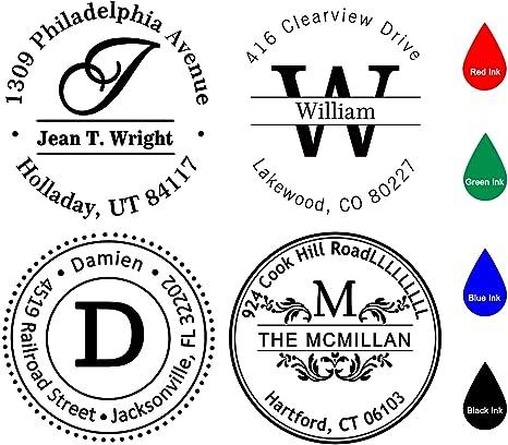 Custom Business Stamp,Custom Logo Stamp,Custom Stamp Simple Address Stamp,Custom Stamp,Gift Stamp,Self Inking Stamp Return Address Stamp