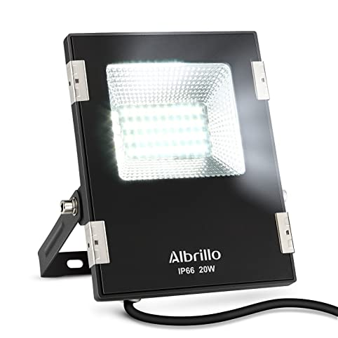 Albrillo outdoor led flood lights 20w 150 watt halogen bulbs albrillo outdoor led flood lights 20w 150 watt halogen bulbs equivalent 1600lm daylight workwithnaturefo