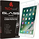 "TECHGEAR® New Apple iPad (9.7"" / 2017) GLASS Edition Genuine Tempered Glass Screen Protector Guard Cover"