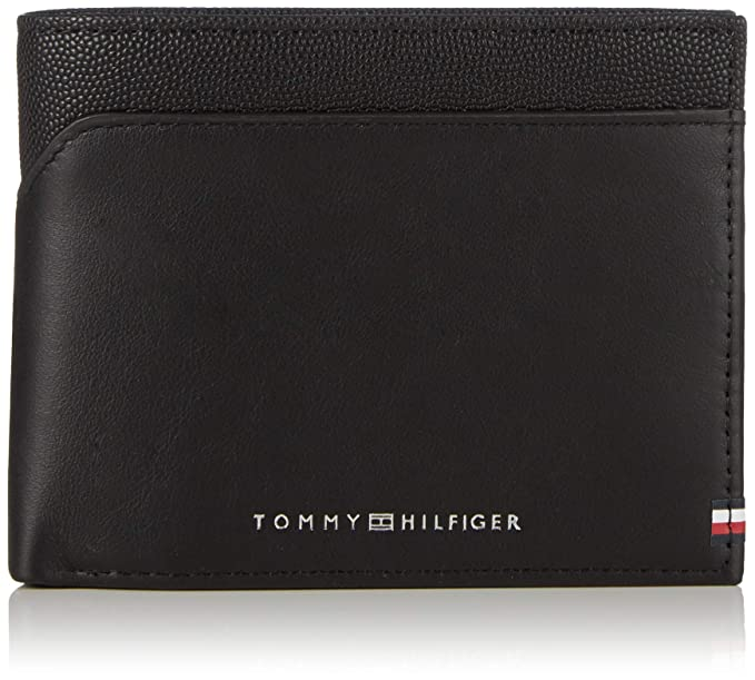 Tommy Hilfiger - Bi-material Cc Flap And Coin, Tarjeteros ...