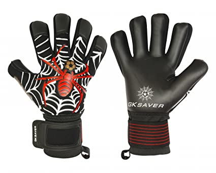 GK Saver Soccer Goalkeeper Gloves Spider Trap Professional Quality Finger  Save Goalie Gloves (NO Fingersave ef193f29eb