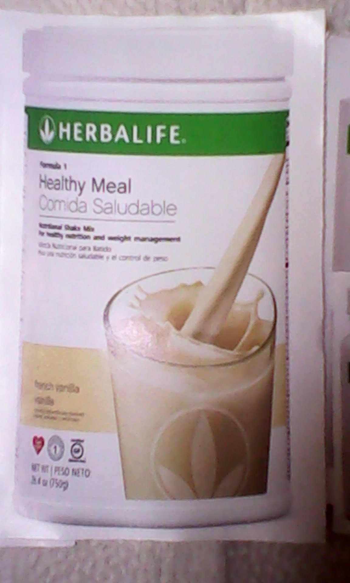 HERBALIFE QUICK COMBO - FORMULA 1 SHAKE MIX (Vanilla), PERSONALIZED PROTEIN, HERBAL ALOE (Mango), HERBAL TEA CONCENTRATE (Raspberry) by Herbalife (Image #2)
