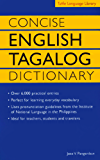 Concise English Tagalog Dictionary (Tuttle Language Library)