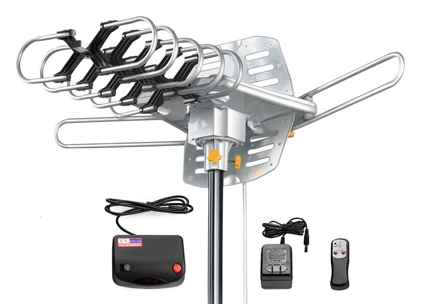 Tree New Bee Amplified Outdoor HDTV Antenna – 150 Miles Range