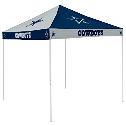 new concept c094c f08d0 Logo Brands NFL Dallas Cowboys Checkerboard Tent Checkerboard Tent, Navy,  One Size