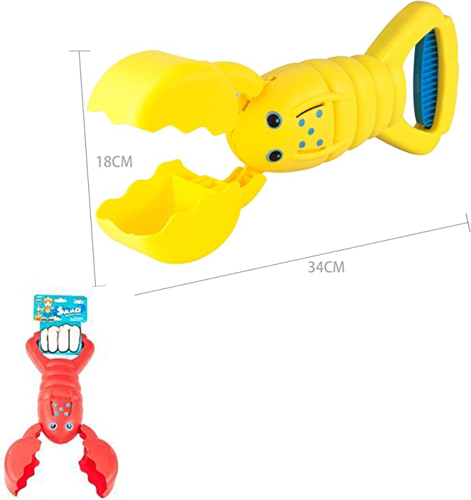 Kids Children Plastic Robot Arm Hand Grabber Claw Robotic Crab Toys