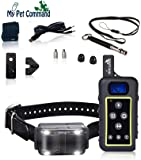 My Pet Command 1.25 Mile (6600 Ft) Dog Training Collar Safe Dog Shock Collar with Remote Shock, Vibrate, Tone and…