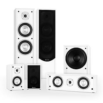 Auna Linie-300-WH 5.1 Sistema de Sonido Home Cinema (515W ...