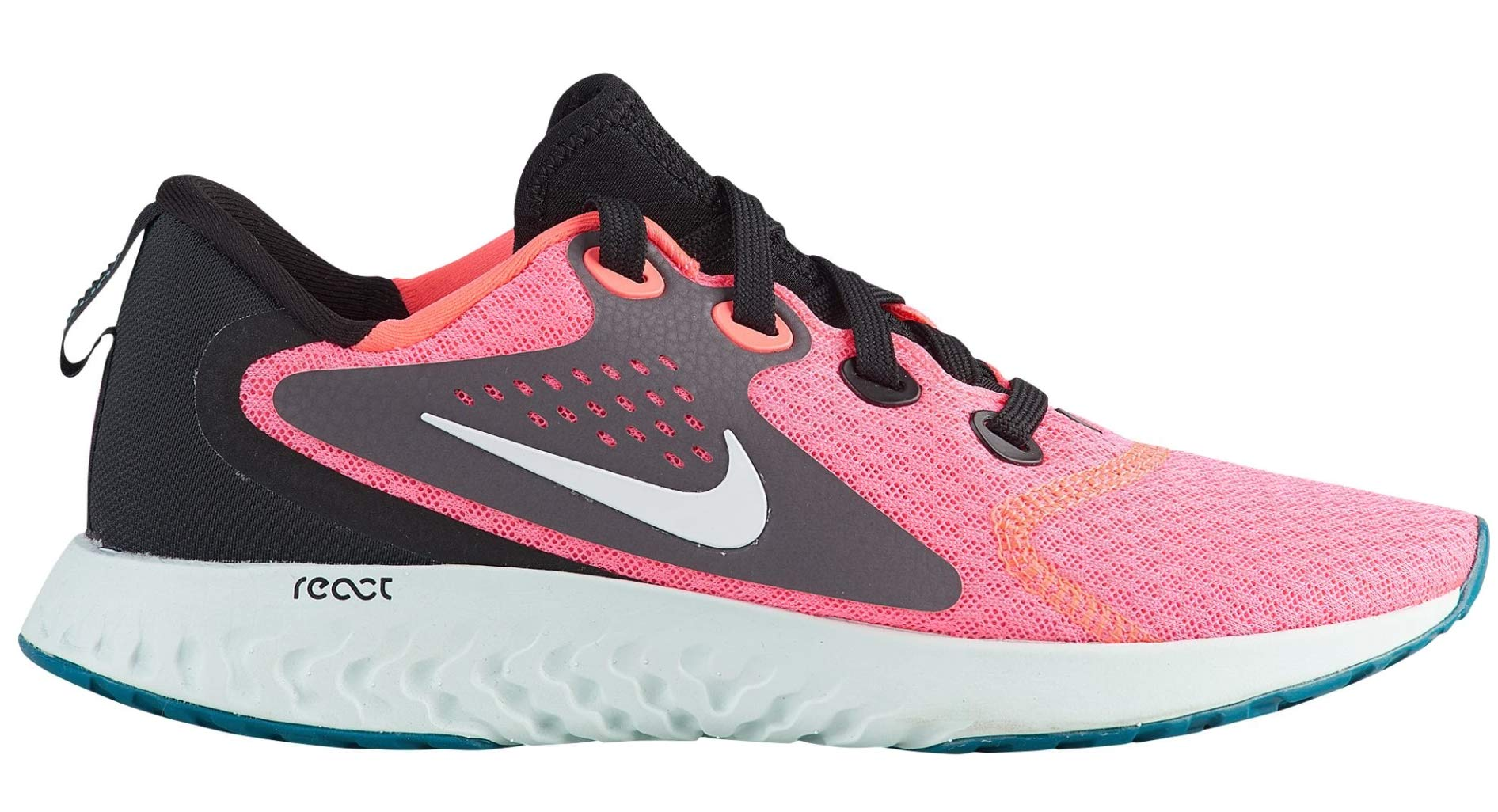 half off 08732 ac8c6 Galleon - Nike Women s WMNS Legend React Low-Top Sneakers, Multicolour (Hot  Punch White Black Thunder Grey 001), 8.5 UK