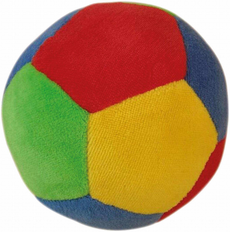 Bieco 11001414 - Veloursball mit Rassel Durchmesser, ca. 11 cm KG Bieco GmbH & Co Siva Toys11001414