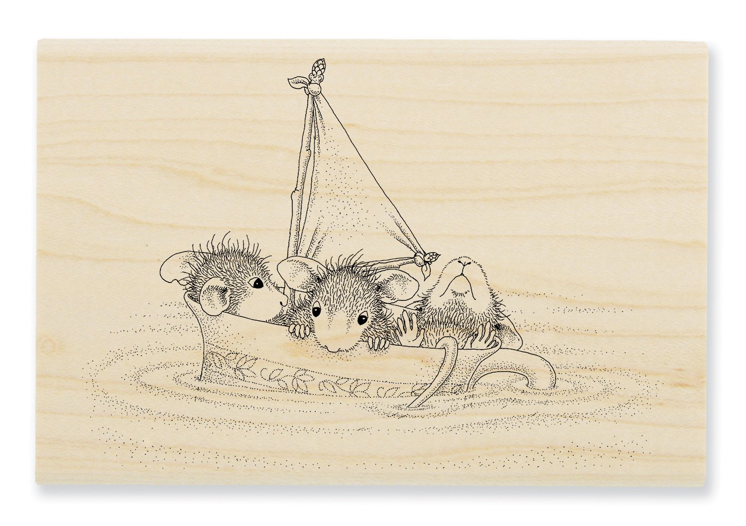 Stampendous House Mouse Cling Stamp-sail Cup