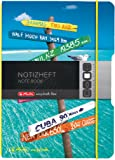 Herlitz 11415635 Notizheft my book flex, A6, 40 Blatt, kariert Reise