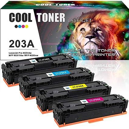 Cartucho de repuesto para HP 203X 203A CF540A CF541A CF542A CF543A ...