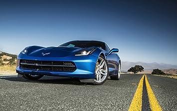 2014 Corvette Stingray Blue