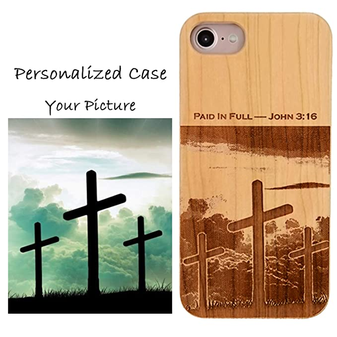 sale retailer 905ab 5e264 Make Your Own Case Compatible with iPhone 8 7 6/6S (NOT Plus) and Magnetic  Mount-iProductsUS Custom Cases Engraved Your Picture and Words,Built-in ...