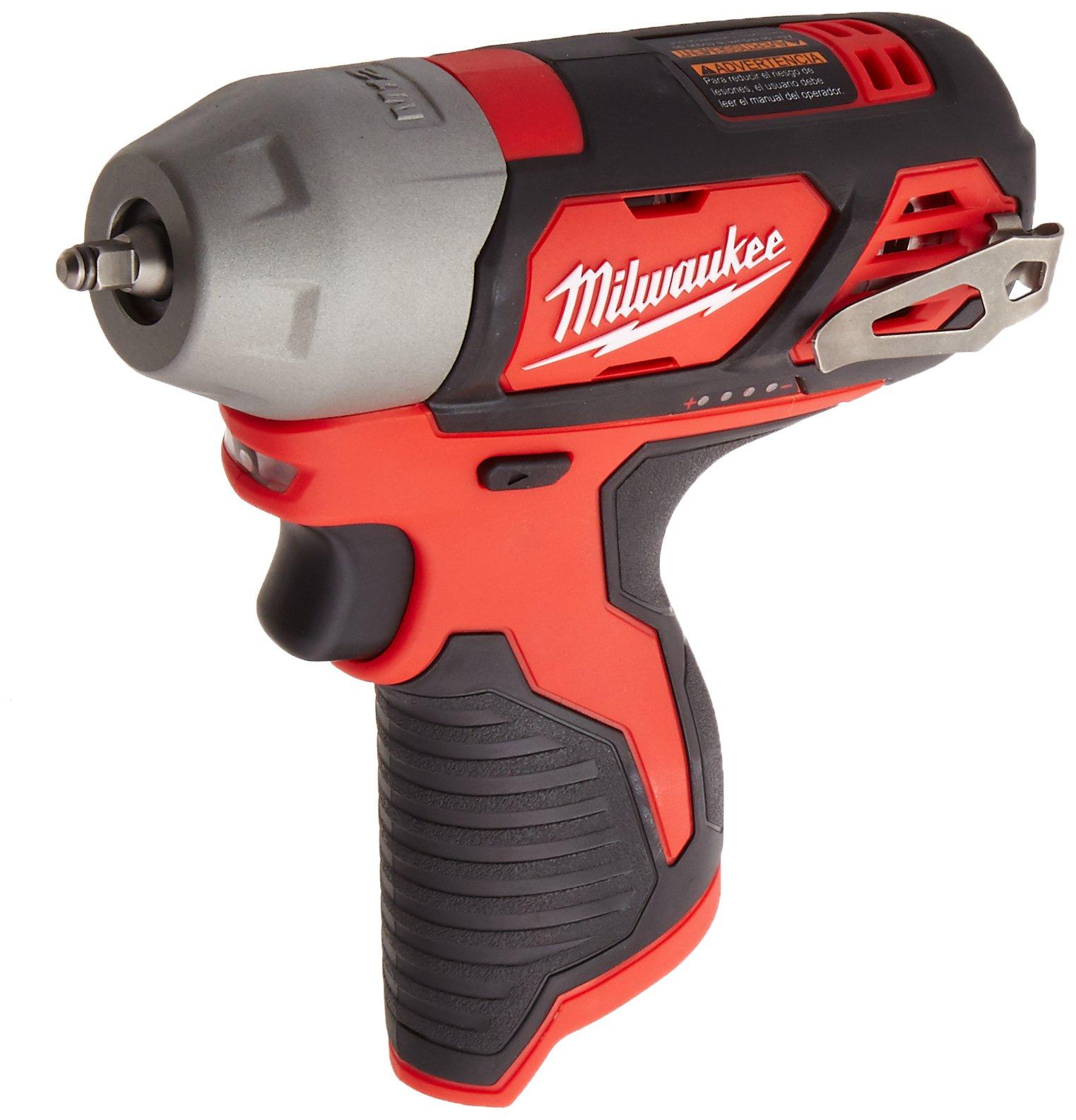 Milwaukee 2461-20 M12 1/4 Impact Wrench - Bare