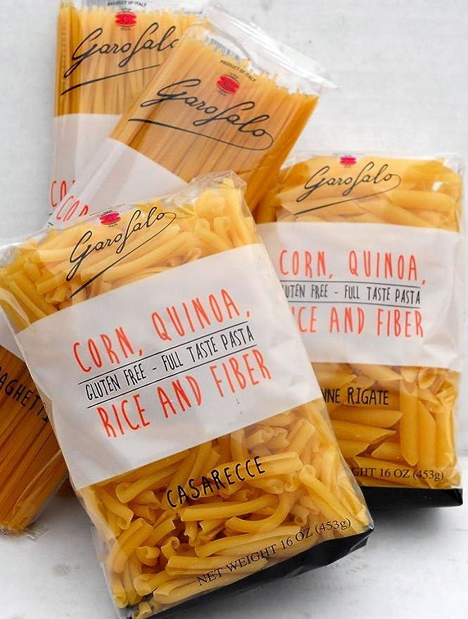 Garofalo (8pack) muestra de pasta sin gluten bolsas de 16 oz italia