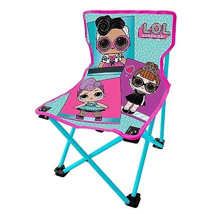 Amazon.com: Danawares LOL Surprise Silla plegable para niños ...