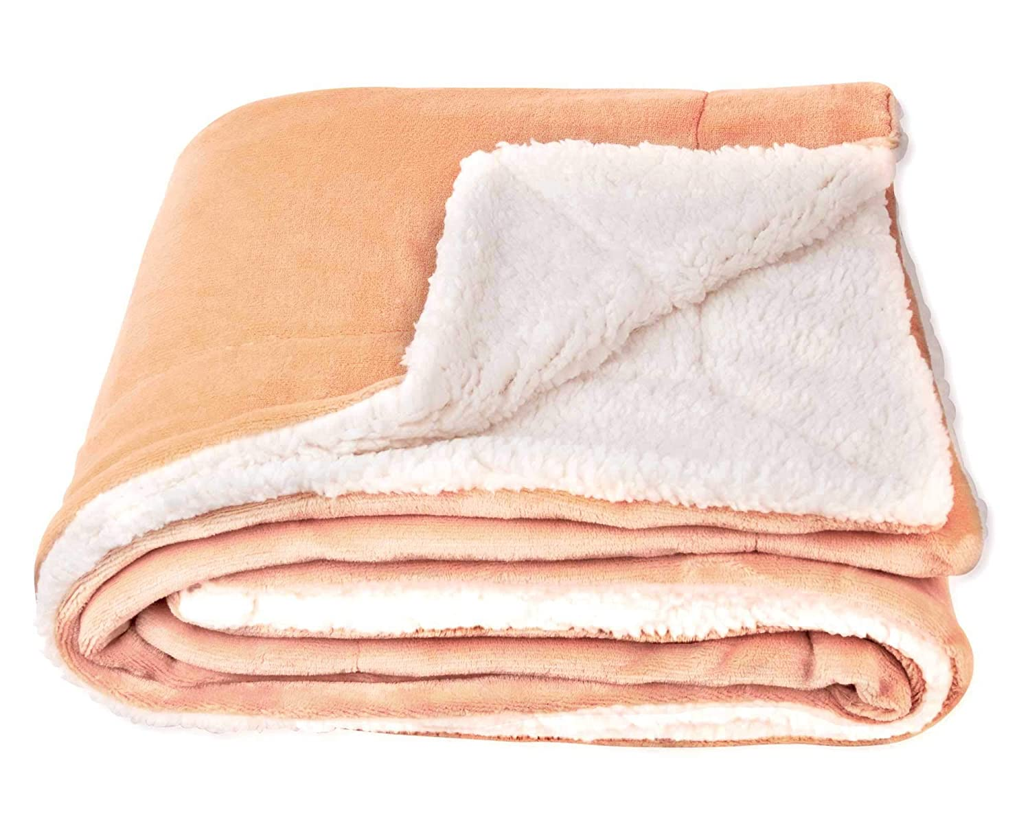 SOCHOW Sherpa Fleece Throw Blanket, Double-Sided Super Soft Luxurious Plush Blanket 50