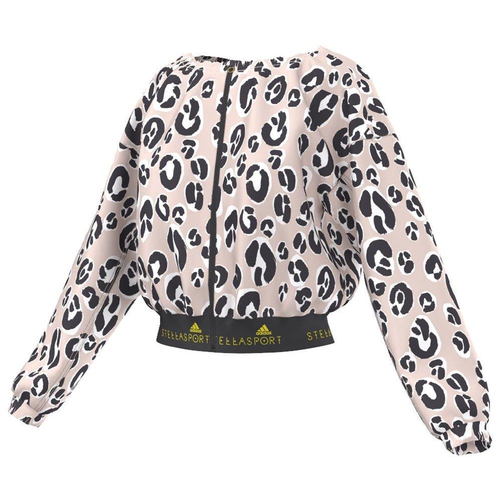 Adidas Stella McCartney STELLASPORT Graphic Jacket Leopard Size M