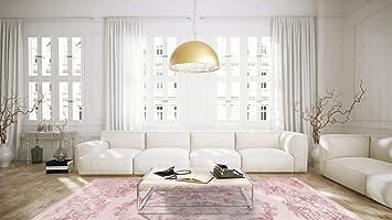 Amazon.de: One Couture KLASSISCH Wohnzimmer ROSA AUBUSSON MODERN ...