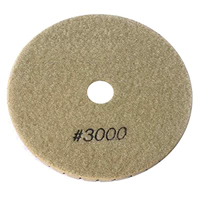 "Specialty Diamond BRTW53000 3000 Grit 5"" 6mm Premium Wet Polishing Pad: Home Improvement"