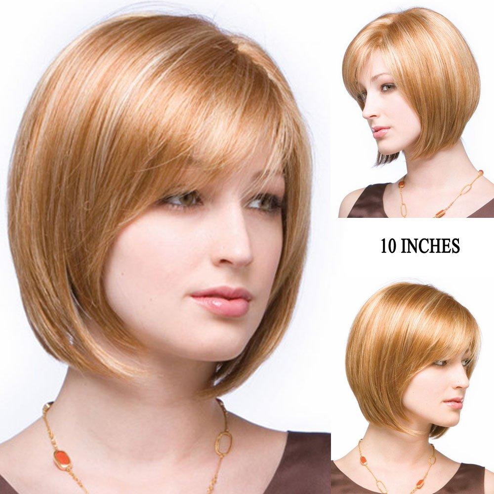 Amazon Gnimegil Vintage Hairstyle Mixed Brown Blonde Hair