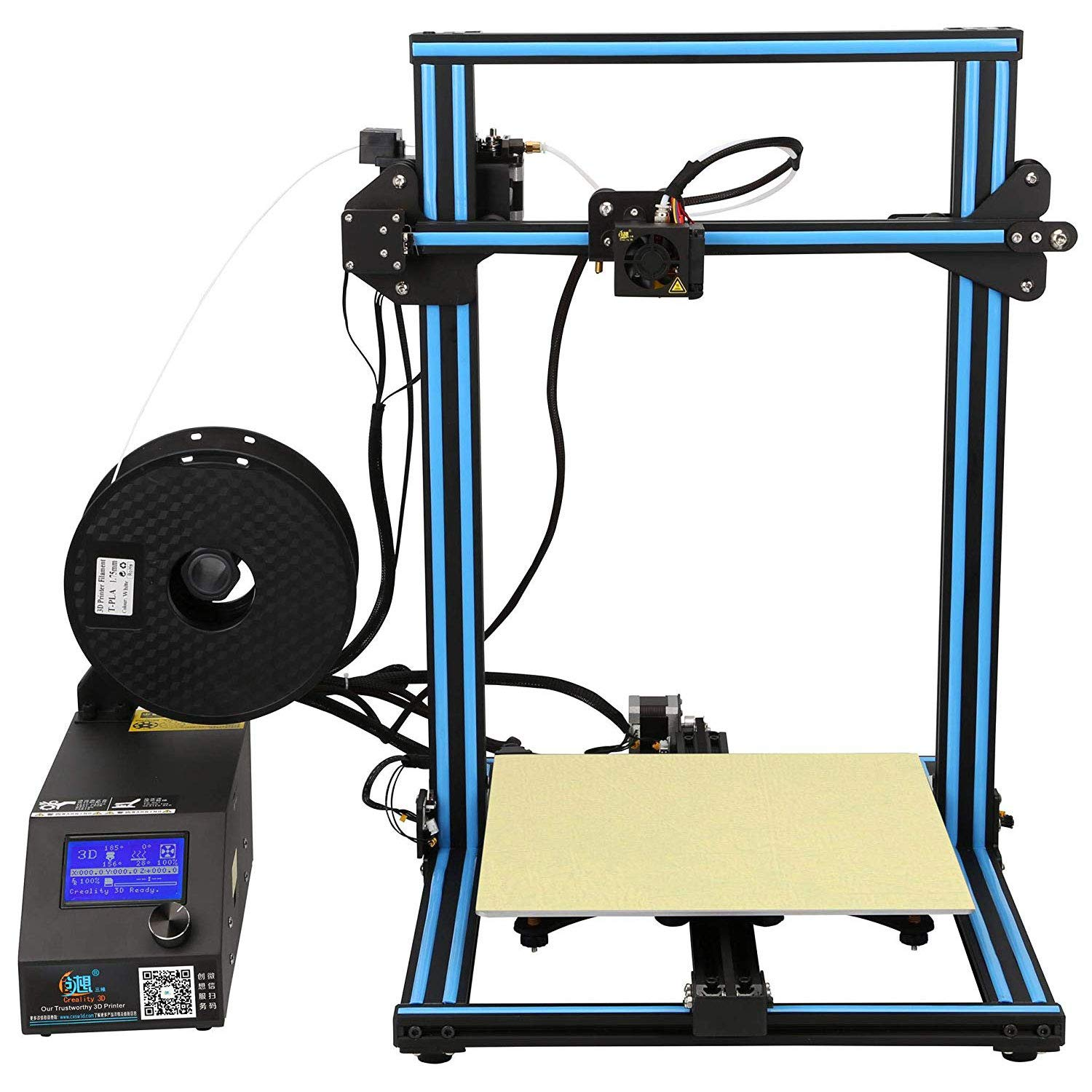 Creality - Impresora 3D CR-10S, 300 x 300 x 400 mm: Amazon.es ...