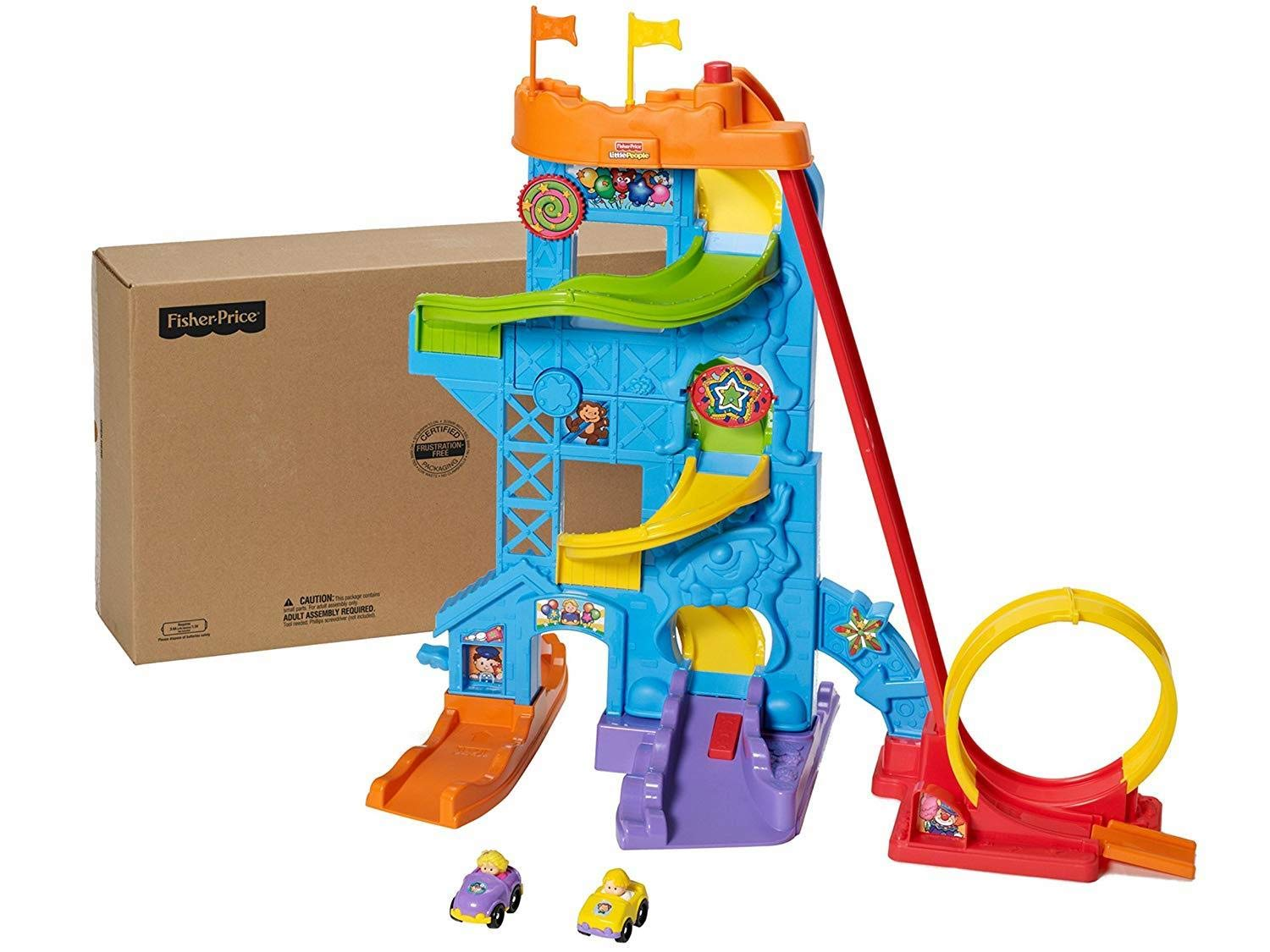 Fisher-Price Little People Loops n Swoops Amusement Park [Amazon Exclusive]