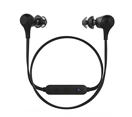 Optoma Nuforce BE 2 - Auriculares intrauriculares inalámbricos con Bluetooth, Color Negro