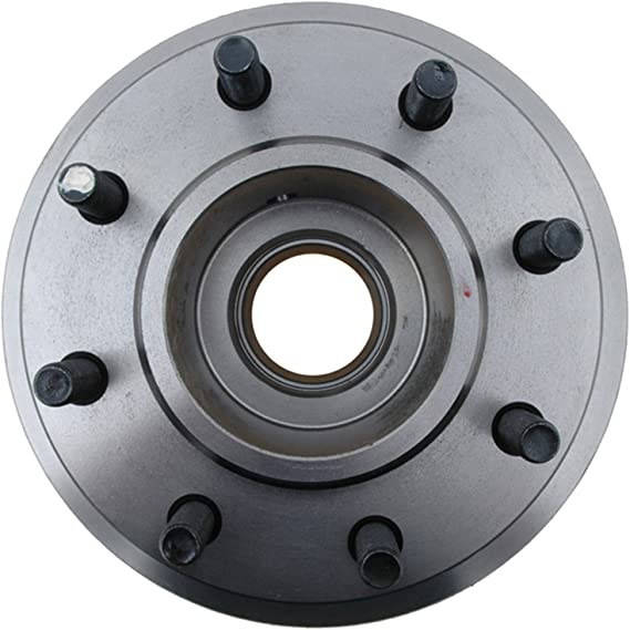 ACDelco 18A950A Advantage Non-Coated Front Disc Brake Rotor and Hub Assembly