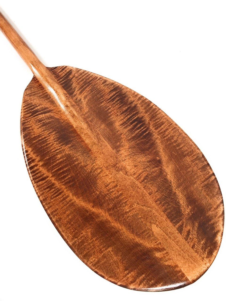 ''Comet Entry'' Decorative Paddle 50'' w/ T Handle - Curly Maple | #koa6080