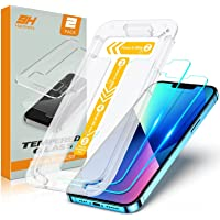 TEUMI Screen Protector Compatible with iPhone 13/iPhone 13 Pro 6.1 Inch 2021, [Upgraded Easiest Installation] [Case…