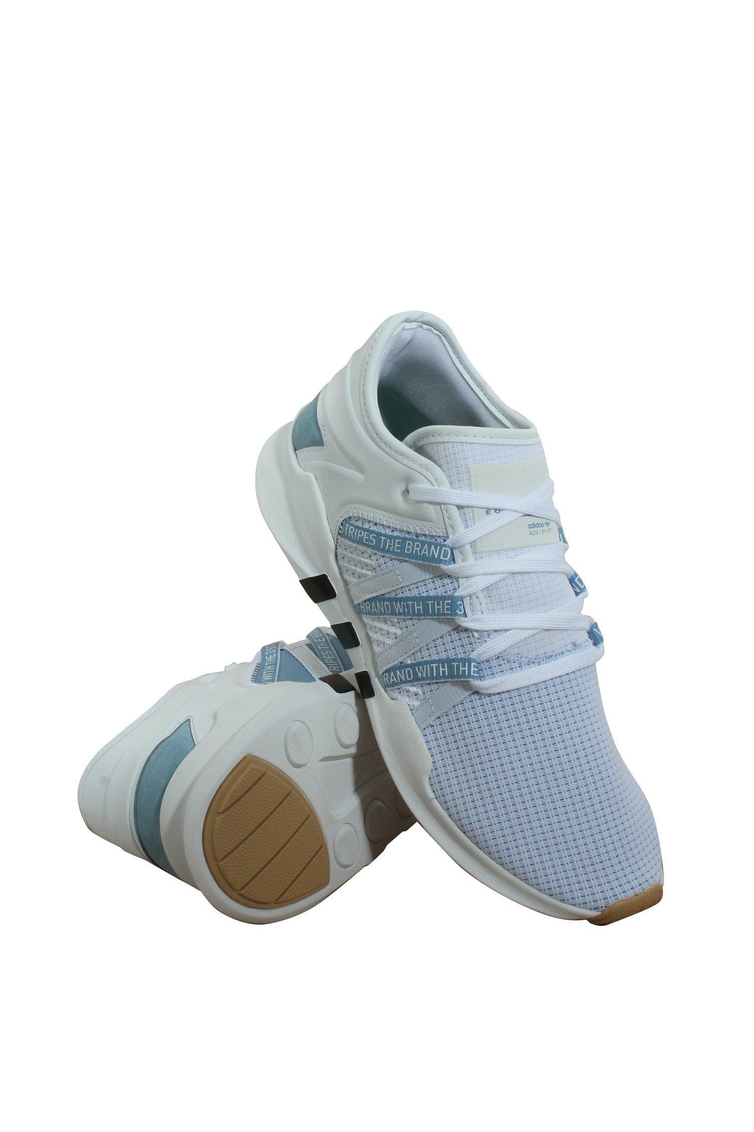 Adidas Women's EQT Racing ADV Originals Ftwwht/Ashblu/Cblack Training Shoe 5.5 Women US by adidas