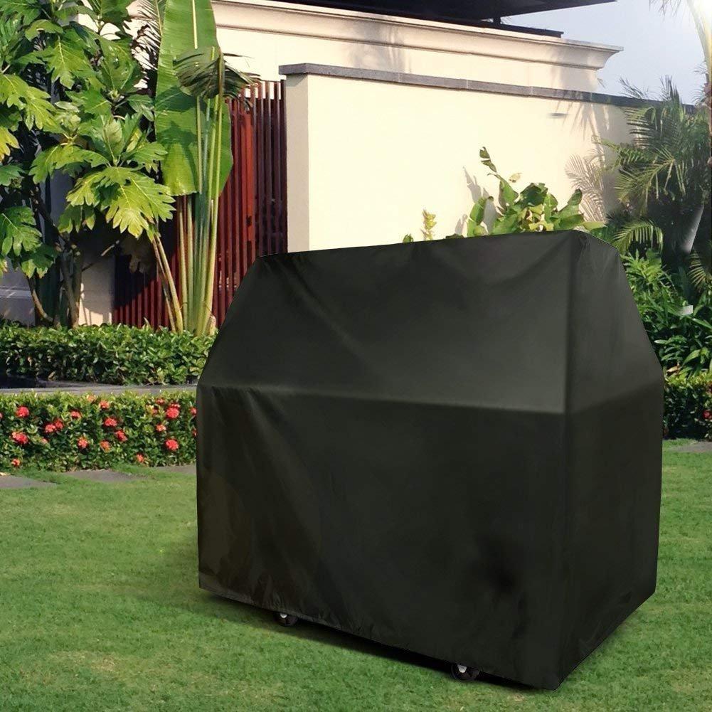 cubierta grande y ajustable para el aire libre impermeable Cubierta para barbacoa de Werded protector de barbacoa para el jard/ín con dobladillo el/ástico // Cubierta
