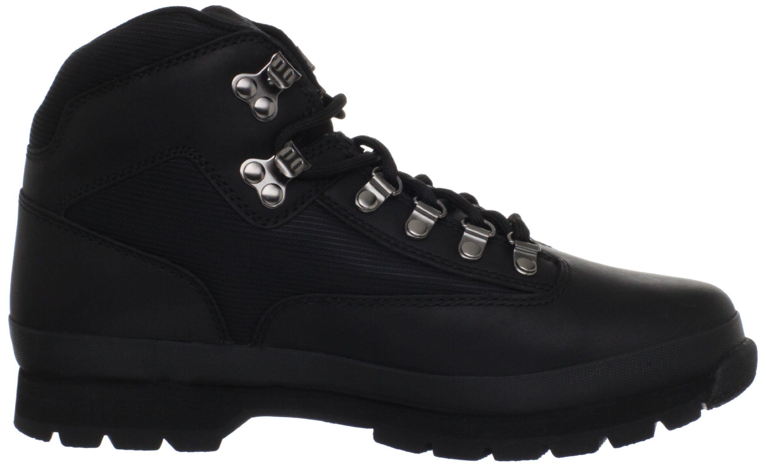 Timberland Men's Euro Boot,Black Smooth,10.5 M US by Timberland (Image #6)