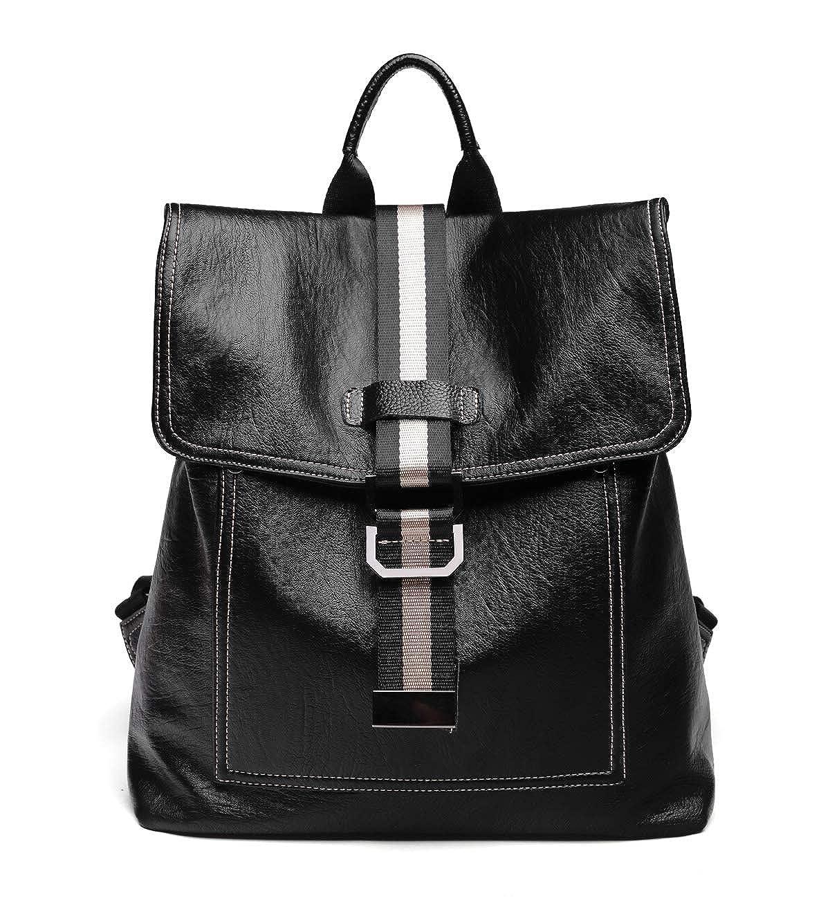 31b544b14a4a Amazon.com  XPATH Women Backpack Purse PU Soft Leather Ladies Rucksack  Casual Shoulder Bag Satchel School Bag Travel for Girls Black UBG47  Shoes